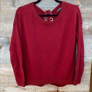 Express Beautiful Red Sweater Size XS